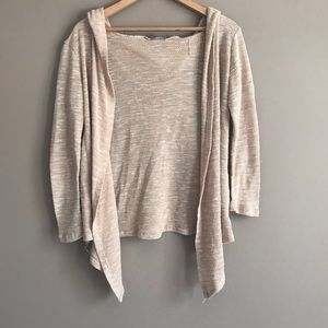 Charlotte Russe Hooded Cardigan
